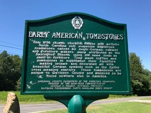 Early-American-Tombstone